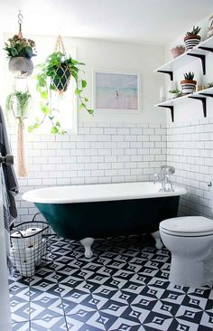 15 Inspiring Tiled Bathrooms From Bold to Minimal