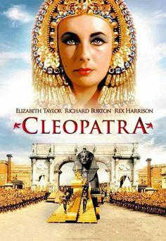 Cleopatra (1963); Casts: Elizabeth Taylor, Richard Burton, Rex Harrison,...