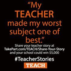 best teacher stories