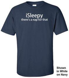 iSleepy Tee #nap #ipad #ipod #funny