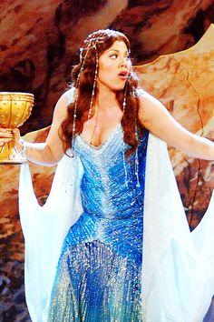 Sara Ramirez (Lady of the Lake) Callie Torres, Lady Lake, Lady Macbeth, Monty Python, Gorgeous Women, Beautiful, Musical Theatre, Greys Anatomy, Powerful Women