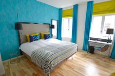 Andersen Hotel Kopenhagen: Home of fresh Ideas – Hoteltipp mit Bericht Hotels, Danish Design, Copenhagen, Bed, Furniture, Home Decor, House, Decoration Home, Stream Bed
