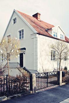 House of Philia Nordic Home, Scandinavian Home, Building Structure, Building A House, House Of Philia, Home Focus, Modern Farmhouse Exterior, My Dream Home, Home Deco