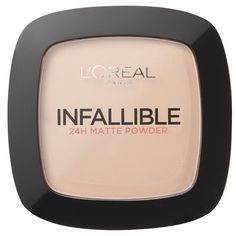 L'Oreal Paris Infallible Powder (Various Shades) (£4.99) ❤ liked on Polyvore featuring beauty products, makeup, face makeup, face powder and l'oréal paris
