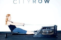 All about arms. http://www.thecoveteur.com/rowing-workout-cityrow/