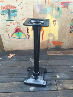 Cast iron base I restore for a buffer grinder I also restore. More photos on the completion of this fun project.