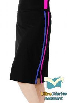 5efcbe197e7 Hydrochic long Swim Skirt with attached Pants-swimming coverups for women  Modest Skirts