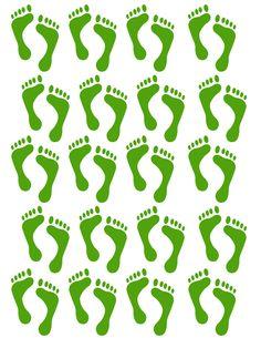 Wild image for leprechaun feet printable