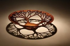 Turned Wood tree of life