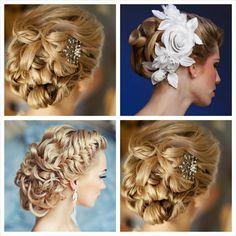 penteados noiva cabelo apanhado com trança - Pesquisa Google