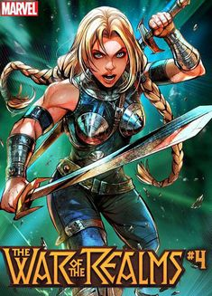 Marvel Reveals All 30 Battle Lines Variant Covers, 29 for May and 1 for April Marvel Dc Comics, Valkyrie Marvel Comics, Marvel Comic Books, Marvel Art, Marvel Women, Marvel Girls, Comics Girls, Marvel Heroines, Marvel Characters