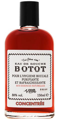 Botot Concentrated Mouthwash - Kaufmann Mercantile Store
