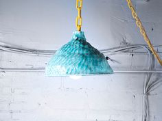 Ceramic lamp by Katie Stout in collaboration with Sean Gerstley.