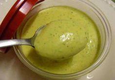 Molho verde para sanduiche e salada - Receitas e Dicas