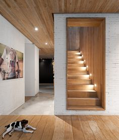 Isay Weinfeld | Casa Yucatan | São Paulo just a great way to light stairs