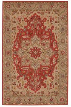 Adriana Area Rug - Traditional Rugs - Hand-tufted Rugs - Wool Rugs | HomeDecorators.com