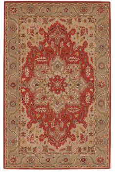 Adriana Area Rug - Traditional Rugs - Hand-tufted Rugs - Wool Rugs   HomeDecorators.com