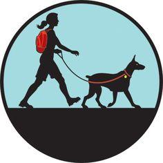 Hike with dog.