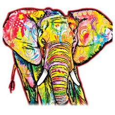 Misc Elephant with Metallic Flakes of Glitter Womens Short Sleeve T Shirt 20102GL2
