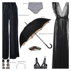 """""""Untitled #3066"""" by amberelb ❤ liked on Polyvore featuring Ann Demeulemeester, Forever New, H&M, Base Range and Burberry"""