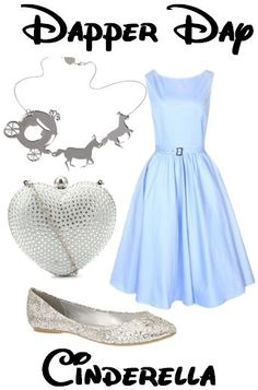 disney dapper day outfits | Dapper Day outfit inspired by Cinderella.