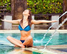 Nip Slip-Proof Swimsuits for Active Girls