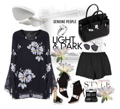 """""""Genuine-People"""" by jecakns ❤ liked on Polyvore featuring Le Fate, Loeffler Randall, NARS Cosmetics, Gucci and Genuine_People"""