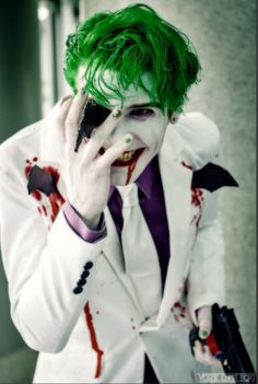 The Joker - The Dark Knight Returns cosplay by smile-xvillainco on DeviantArt