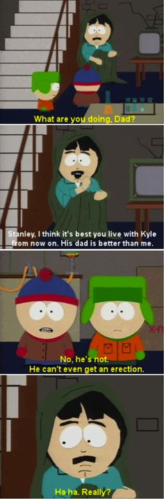 South Park Spontaneous Combustion Stan Kyle Randy