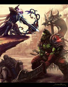 fan art by  ShadowPriest, Warcraft
