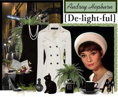 """delight - audrey hepburn"" by countrycousin ❤ liked on Polyvore"