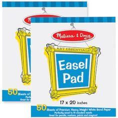 Melissa & Doug 2-pk. Easel Pad Bundle