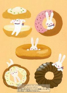 Rabbit in a donut hole