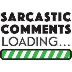 Silhouette Design Store: sarcastic comments loading