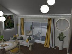 Artist's living room Living Room Designs, Living Rooms, Oversized Mirror, Interior Design, Furniture, Home Decor, Lounges, Nest Design, Decoration Home