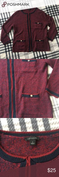 Ann Taylor Cardigan Size Small Excellent condition  No tears or stains  From a pet and smoke free home  Shows minimal wear Ann Taylor Sweaters Cardigans