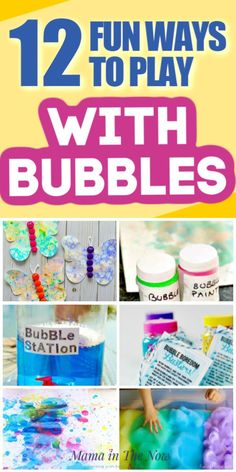 Get your kids outside this summer. Arm them with the ingredients necessary for some good wholesome fun with bubbles. They will never outgrow the magic of bubble fun! Bubble Activities, Fun Activities To Do, Toddler Activities, Happy Kids, Happy Family, Family Life, Fun Learning, Teaching Kids, Bubble Fun