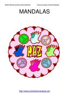 Coloreamos mandalas 30 Enero día de la paz 2013   Orientacion AndujarOrientacion Andujar