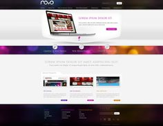 Web design: NOYO webdesign by *VictoryDesign on deviantART Art Web, Web Design Trends, Conte, Online Art Gallery, Web Development, Online Marketing, Packaging Design, Browsing Deviantart, Rainbow