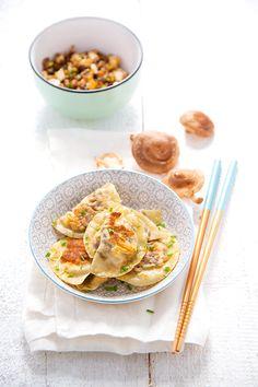 100 % Végétal: Les superaliments { + concours } >> Ravioli shiitake & tofu