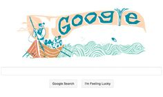 loving this Google Doodle for Moby Dick