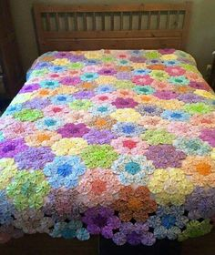 Fabric flower runners