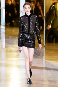 Anthony Vaccarello spring/summer 2016 collection show pictures | Harper's Bazaar #fashion #fashionista #style #instyle