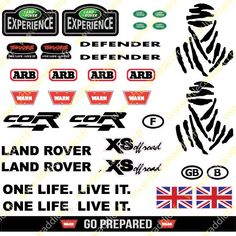 """Stickers """"Land 2 """" -www. Land Rover Discovery, Land Rovers, Stickers, Mad Max, Hot Wheels, Landing, Diecast, Slot, 4x4"""