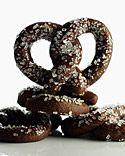 Chocolate pretzel Cookies...mmm