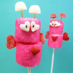 Such cute ideas for Valentine's Day!