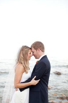 lakeside wisconsin wedding // photo by m three studio