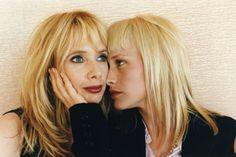 by Helmut Newton / Rosanna and Patricia Arquette, Cannes, 1996 Arquette Rosanna, Patricia Arquette, Famous Duos, Define Fashion, Photo Star, Helmut Newton, Portraits, Fashion Designer, Blonde Color