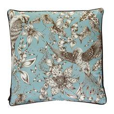 Osborne & Little - Kayyam Cushion - Blue