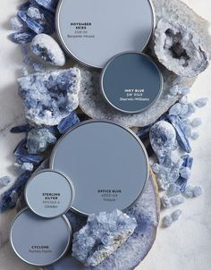 Color Report: The Restorative Power of Mineral Hues — Better Homes & Gardens – Projects to Try – paint Paint Colors For Home, House Colors, Beach Paint Colors, Light Blue Paint Colors, Paint Colours For Bedrooms, Duck Egg Blue Colour Palette, Blue Grey Paint Color, Blue Room Paint, Baby Blue Paint